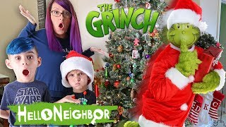 Hello Neighbor In Real Life The Grinch Edition Funhouse Family