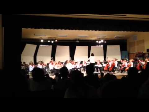 Kalispell middle school 8th grade orchestra
