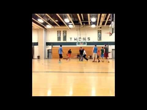 Scott E. Rich pickup game footage at Columbia Greene Community College 2014-#3-