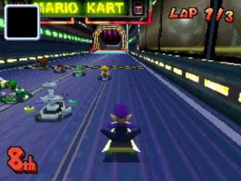 Play Mario Kart >> Mario Kart DS: Waluigi Pinball - YouTube