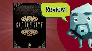 Carson City: The Card Game Review - with Zee Garcia
