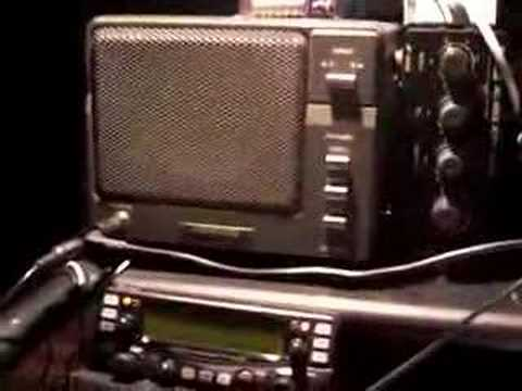 3Y0E ham radio stn. Voice on noise level