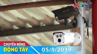 Lắp đặt camera an ninh trong chợ - lợi cả đôi đường | CHUYỂN ĐỘNG ĐÔNG TÂY - 5/5/2019