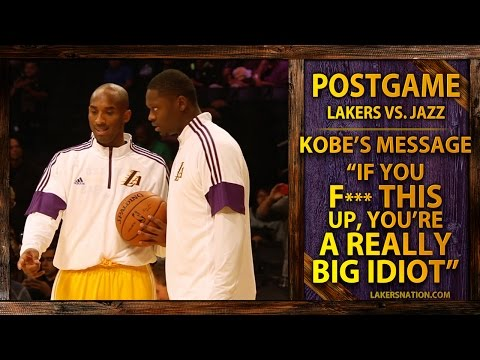 Kobe Bryant's Message To Julius,