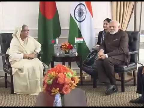 PM Modi meets Bangladesh PM Sheikh Hasina in New York