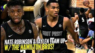 Download Lagu Nate Robinson & Jaylen Hands TEAM UP at The Drew League W/ The Hamilton Bros!! Gratis STAFABAND