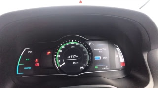 Ioniq Electric windscreen update 20k mile service and kona