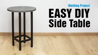 Modern Side Table | Easy DIY Project