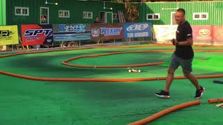 Naoto Matsukura vs Stick King in RC Buggy Track