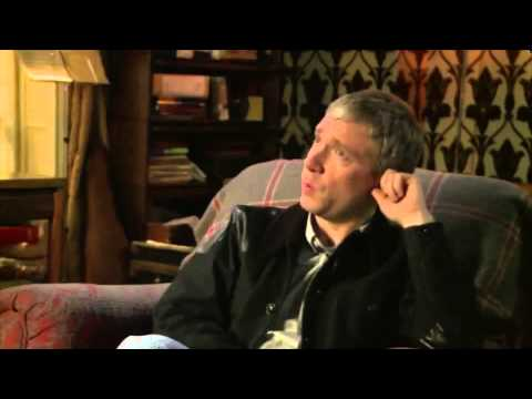 Martin Freeman on The Empty Hearse