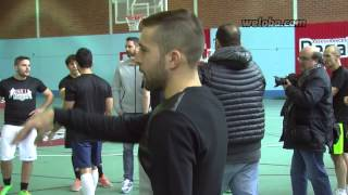 Jordi Alba showing his great skills as a coach / www.weloba.com