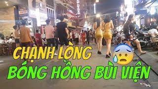 Người ăn cóc kẻ khóc tủi thân Bùi Viện walking street  |  Guide Saigon Food