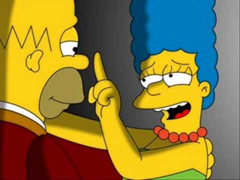 Homer and Marge Simpson : So Happy