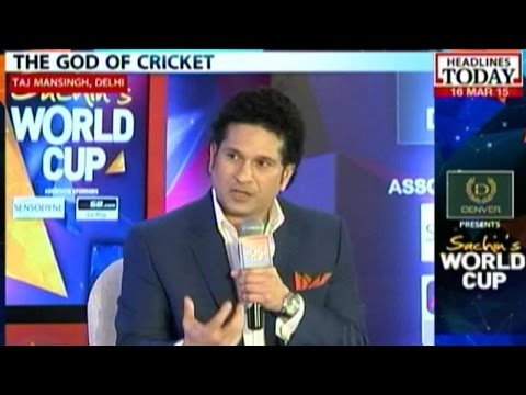 Sachin's World Cup: 'India Can Win The World Cup'