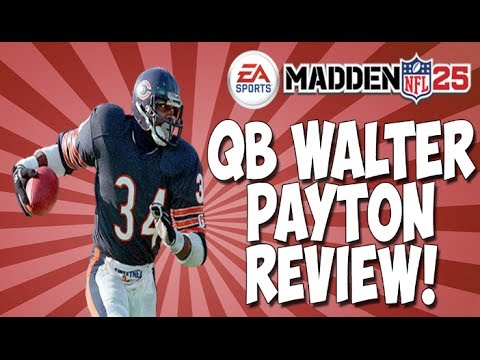 Mut 25 ghost walter payton review best qb in the game madden 25 ultimate team youtube - Walter payton madden 15 ...