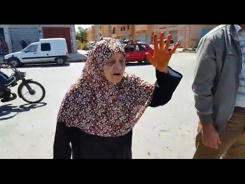 """صرخة عجوز من تيزنيت أمام مستشفى الإقليمي .. عِباَدْ الله """"خَـــانُزْ"""" فالسبيطــار"""