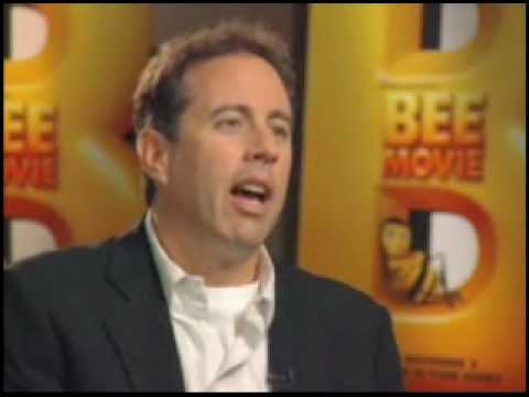 jerry seinfeld bees. Comedian Jerry Seinfeld talks