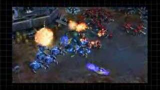 Starcraft 2 Gameplay & Artwork