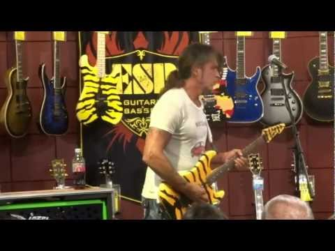 GEORGE LYNCH ESP GUITAR CLINIC THOUSAND OAKS, CA 10/3/2012