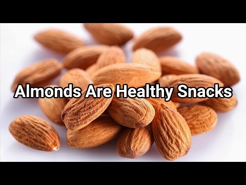 Almonds Are Raw Healthy Snacks for you