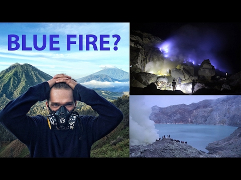 The Largest BLUE FIRE Flames In The World!