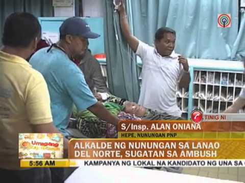 Lanao del Norte mayor wounded in ambush