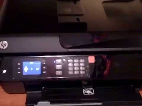 Unboxing and set up of HP Officejet 4630 All In One Printer