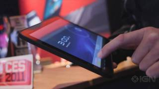 Motorola Xoom Tablet - CES 2011