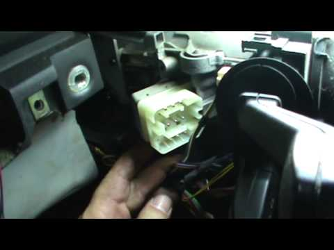 BMW E38 Ignition Switch Replacement
