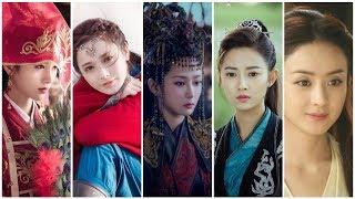 BXH 10 'nữ thần cổ trang' thế hệ mới do người dùng mạng Trung Quốc bình chọn
