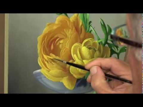 How to paint a Flower