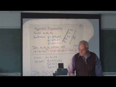 Hyperbolic Geometry is Projective Relativistic Geometry (Part4)