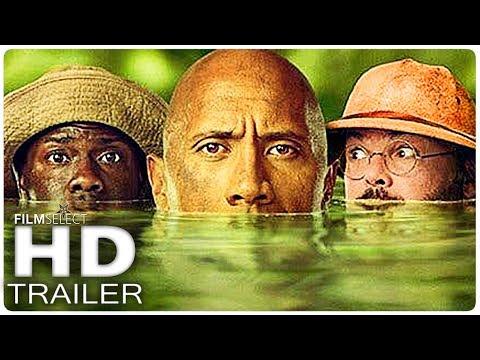 JUMANJI 2: 5 Minute Extended Trailer (2017)