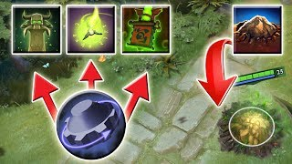 Underground Triple Refresh for long Cooldown Spells [Tombstone + Nether Ward] Dota 2 Ability Draft