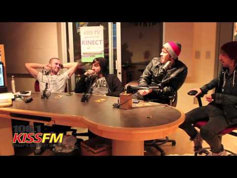 All Time Low studio interview PART ONE
