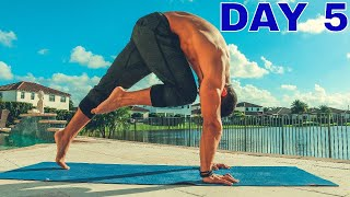 10 DAYS YOGA CHALLENGE - DAY 5 - [Core Strength & Core Stability]
