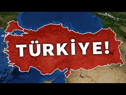 HARİTA ÜZERİNDE TÜRKİYEYE GİTMEK! (Baştan Sona Türkiye!)