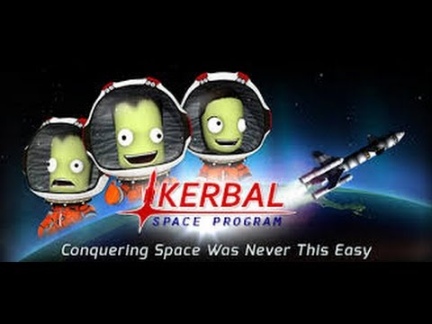 Kerbal Space Programme - Tutorial play through Part1