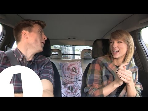 Taylor Swift & Greg James Blank Space Outtakes video