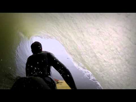 One wave at Skeleton Bay with Ewan Donnachie
