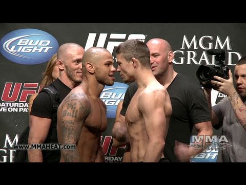 UFC 130: Thiago Alves vs Rick Story: Weigh-In + Face-Off