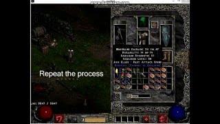 Showcase of Diablo 2 Rollback + Imbue Bot + Craft Bot
