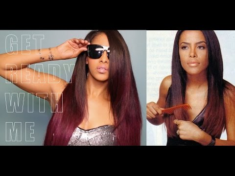 GET READY WITH ME SLEEK & SEXY | AALIYAH INSPIRED HAIR AND MAKEUP | CHINACANDYCOUTURE