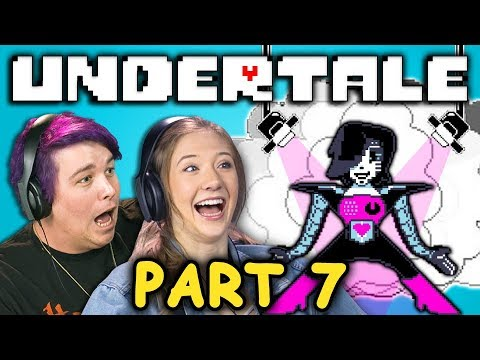 Ooo DEM KILLER LEGS! | UNDERTALE - Part 7 (React: Let's Plays)