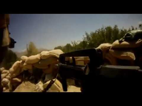 French Army combat footage in Afghanistan.