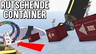 RUTSCHENDER CONTAINER vs JETS | GTA 5 JET vs Container