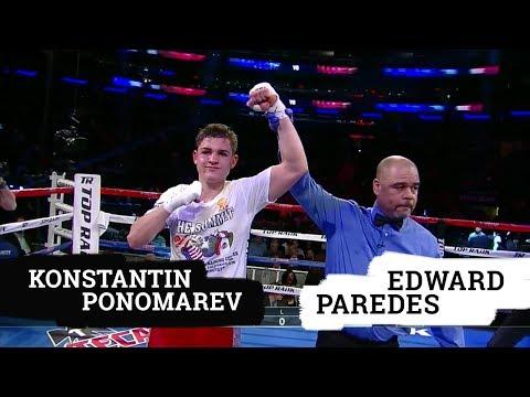Konstantin Ponomarev VS Edward Paredes :: TopRank :: Crawford Diaz