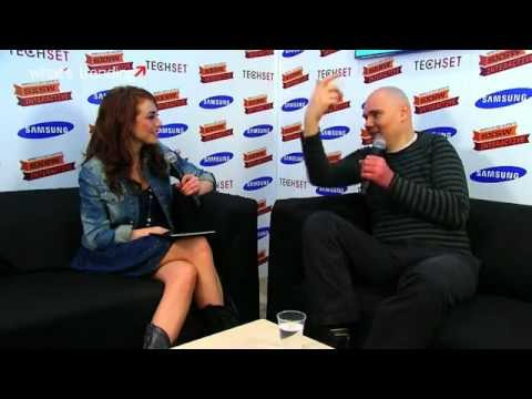 Billy Corgan Interview at SXSW 2012 Samsung Blogger Lounge