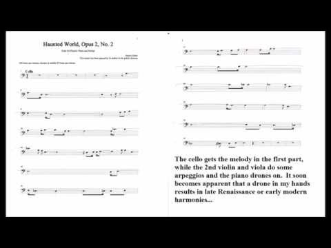 Suite for Electric Piano and Strings (James Quinn) 2. Haunted World