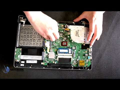 ASUS K56C - Disassembly and cleaning